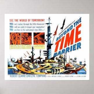 Más allá de la barrera del tiempo póster