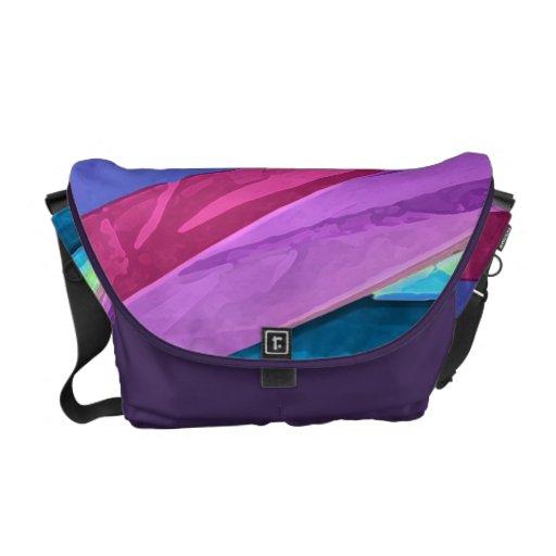 Más allá de la bolsa de mensajero de seda en color bolsa de mensajería