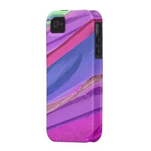 Más allá de la caja en colores pastel de la seda vibe iPhone 4 carcasas