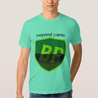 Más allá de la camisa de BP del pánico - escudo