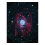 Más allá de la frontera de una galaxia plantillas de membrete