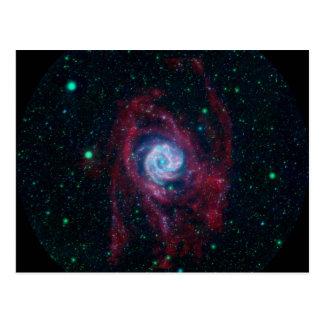 Más allá de la frontera de una galaxia postales