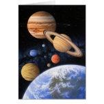 Más allá de la tarjeta casera del planeta