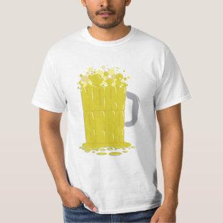 Más amarillo de la cerveza playera