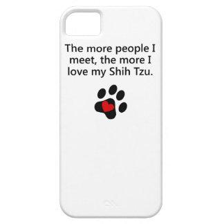 Más amor de I mi Shih Tzu iPhone 5 Case-Mate Carcasa