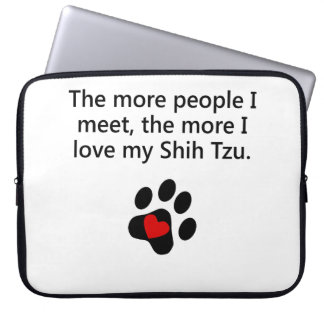 Más amor de I mi Shih Tzu Funda Computadora