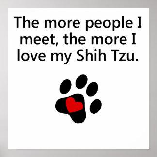 Más amor de I mi Shih Tzu Impresiones