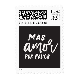 Mas Amor Por Favor Stamp