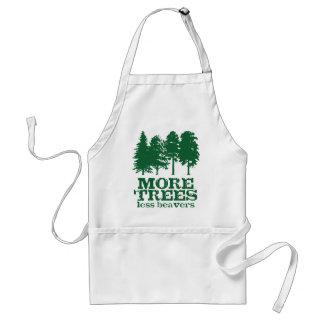 Más árboles delantal