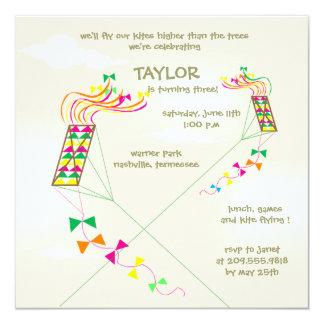 """Más arriba para arriba - cumpleaños invitations-4 invitación 5.25"""" x 5.25"""""""