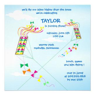 Más arriba para arriba - invitaciones del cumpleañ comunicado personalizado