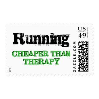 Más barato que terapia sello