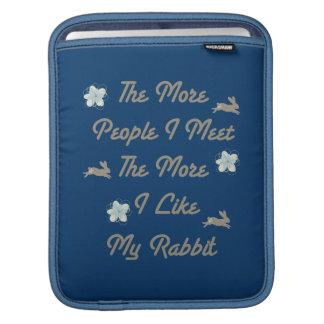Más bién mi conejo funda para iPads