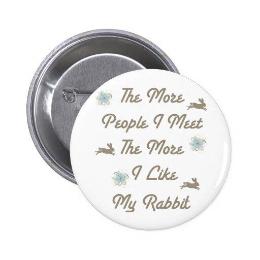 Más bién mi conejo pin redondo 5 cm