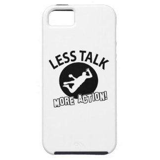 Más bola de mano menos charla iPhone 5 Case-Mate carcasas