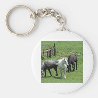 ¡Más caballos Llaveros Personalizados