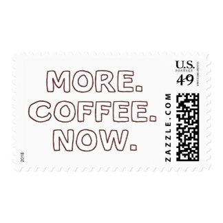 Más café ahora sellos