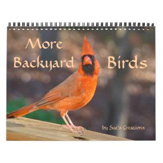 Más calendario de los pájaros del patio trasero