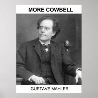 Más cencerro - Gustav Mahler Posters