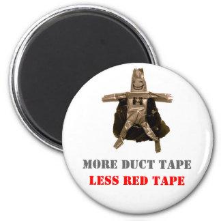 Más cinta aislante menos burocrática imán redondo 5 cm