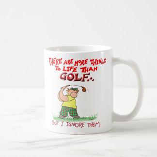 Más cosa-golf taza de café