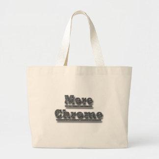 Más cromo del cromo bolsas de mano