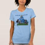 Más curioso en el país de las maravillas camiseta