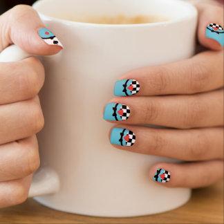 Más curioso y más curioso stickers para uñas