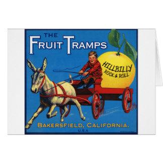 Más diversión del vagabundo de la fruta
