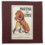 Más doméstico de león de Corse del La de Martha de Servilleta De Papel