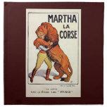 Más doméstico de león de Corse del La de Martha de Servilletas De Papel