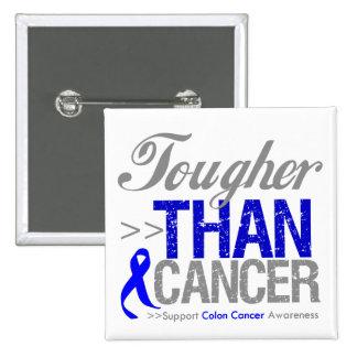 Más duro que el cáncer - cáncer de colon pin