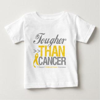 Más duro que el cáncer - cáncer de la niñez remera