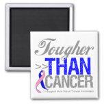 Más duro que el cáncer - cáncer de pecho masculino imán
