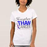 Más duro que el cáncer - cáncer de pecho masculino camisetas