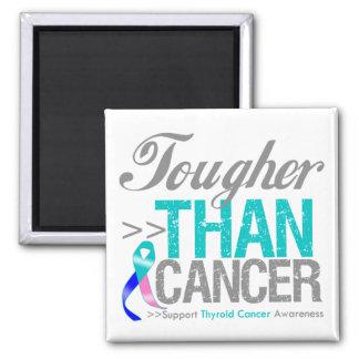 Más duro que el cáncer - cáncer de tiroides imanes para frigoríficos
