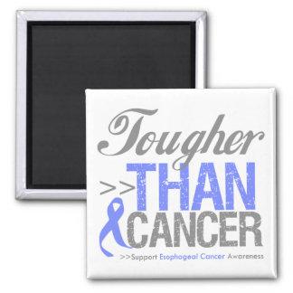 Más duro que el cáncer - cáncer del esófago iman de frigorífico