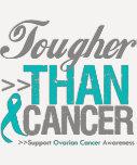 Más duro que el cáncer - cáncer ovárico camiseta