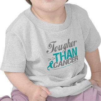 Más duro que el cáncer - cáncer ovárico camisetas
