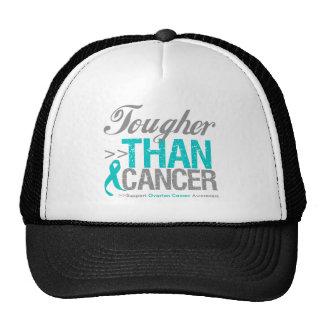 Más duro que el cáncer - cáncer ovárico gorra