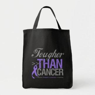 Más duro que el cáncer - el linfoma de Hodgkin Bolsa Tela Para La Compra