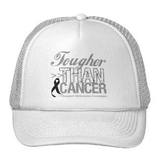 Más duro que el cáncer - melanoma gorras de camionero