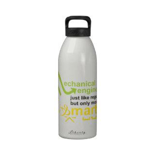 más elegante botellas de agua reutilizables