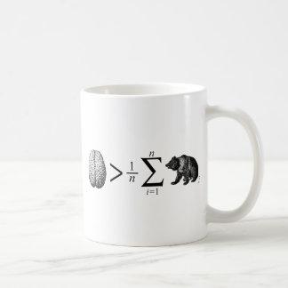 Más elegante que el oso medio taza