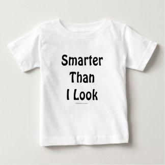 Más elegante que mí miro la camisa infantil