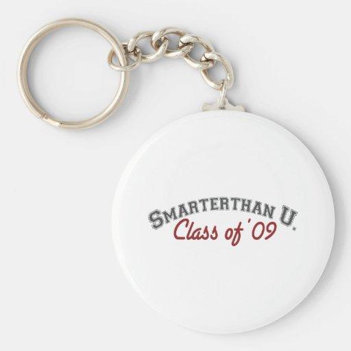 más elegante que usted (graduado) llavero personalizado