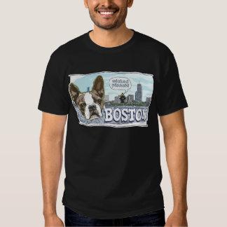 Más engranaje travieso de Boston Terrier Pissah Playera