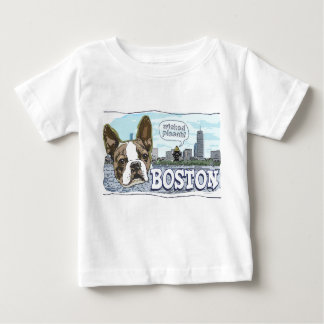 Más engranaje travieso de Boston Terrier Pissah Polera