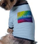Más entonces palabras camisa de mascota