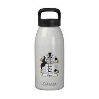 Más escudo de la familia botella de agua reutilizable